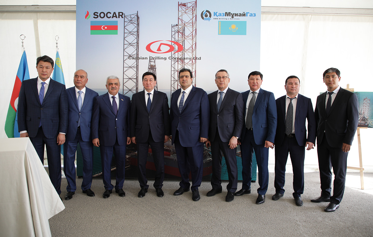 Jack-up Floating Drilling Rig Satti Arrived in Baku